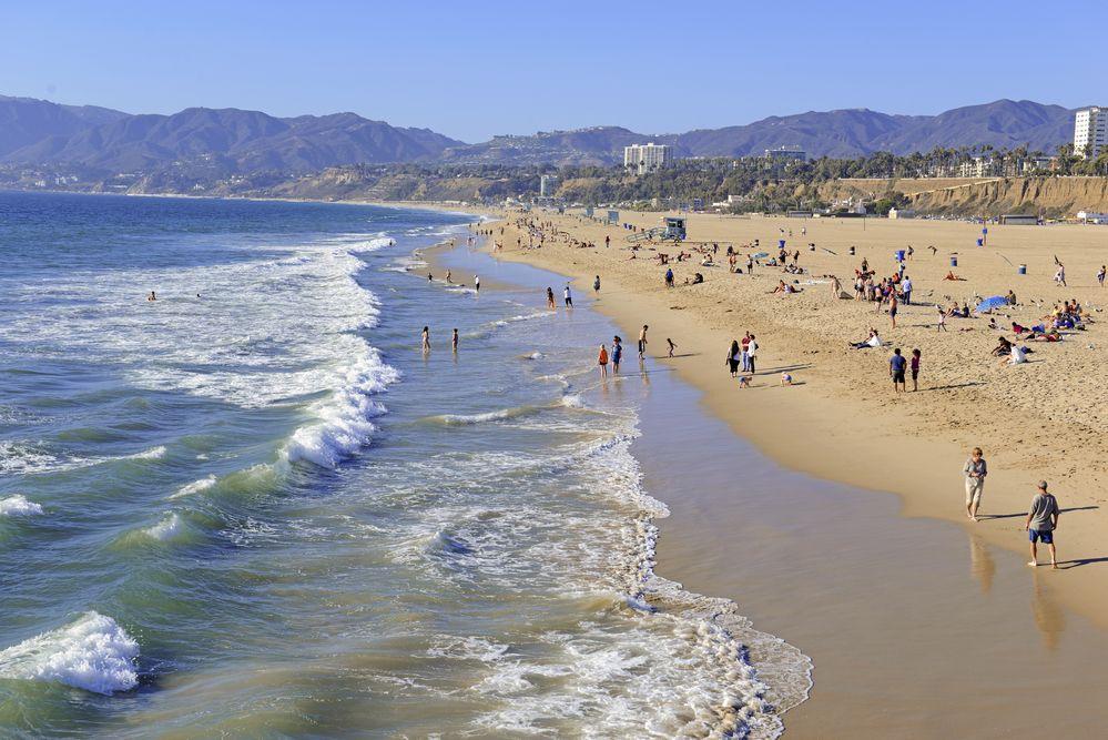 Spiaggia malibu